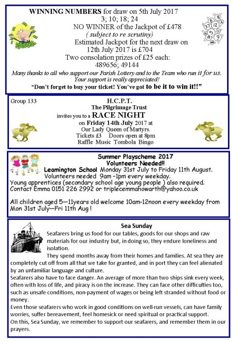 newslettermiddle b 9th july